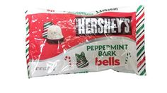 Hershey's Peppermint Bark Bells, 9 oz. Great for passing around on Valentine's Day!