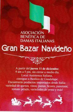 Bazar Italiano! Productos importados desde Italia, buenos precios y buena calidad! Apoyando a una buena causa! Visítanos!