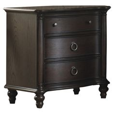 Glen Cove Nightstand (Espresso)