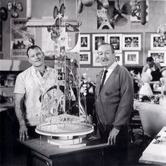 """Here are a selection of pictures of Walt at Walt Disney Imagineering workshop - at that time called """"WED Enterprises"""". You will reco. Disney And More, Disney Love, Disney Magic, Disney Stuff, Disney Humor, Disney Parks, Walt Disney World, Disney Icons, Disney Posters"""