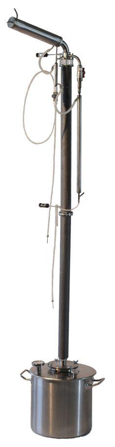 """Ректификационные установки : Ректификационная колонна """"МХ-кристалл"""" установка с кубом 12 - 37 литров"""