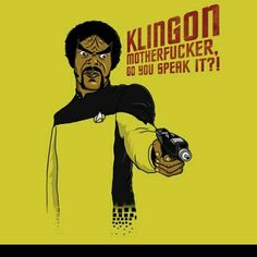 I don't know, this made me laugh. #StarTrek #PulpFiction