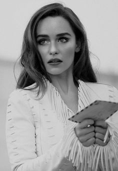 Emilia Clarke. I kinda have a thing for brows all of a sudden.