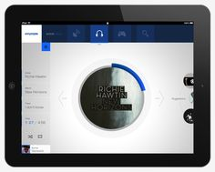 wave       iPad application by Gianpaolo Tucci, via Behance