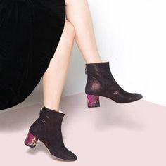Lucrezia Maria Monaca luxury Italian footwear label that combines classic with a twist Label, Footwear, Booty, Ankle, Luxury, Classic, Shoes, Fashion, Derby