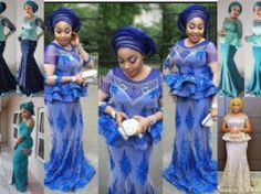 Glamorous Aso Ebi Styles To Rock Your Next Wedding Party