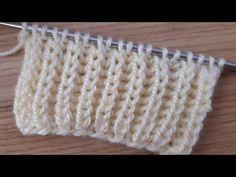 Kolay selanik örgü nasıl yapılır? - YouTube Baby Cardigan Knitting Pattern Free, Crochet Hooded Scarf, Knitting Patterns Free, Knit Patterns, Knitting Videos, Knitting Stitches, Knitting Designs, Wie Macht Man, Summer Knitting