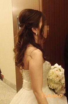 ドレスから和装にチェンジ♡可愛い花嫁さまの素敵な一日 の画像 大人可愛いブライダルヘアメイク『tiamo』の結婚カタログ