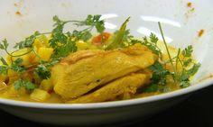 Kip met curry   VIER