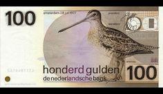 100 gulden - 'snip'