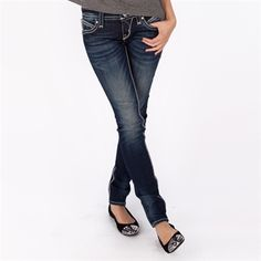 Rock Revival Women's Contemporary Blair Skinny Jean | from Von Maur #VonMaur #StyleCorner
