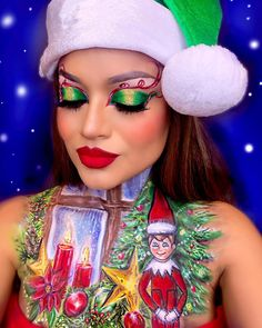 🎨💄Indira Tannetta🎨 (@tannettamakeupartistry) posted on Instagram • Dec 4, 2020 at 7:43am UTC Christmas Makeup, The Elf, Little Boys, Happy Holidays, Captain Hat, Halloween Face Makeup, Hats, Instagram, Ideas