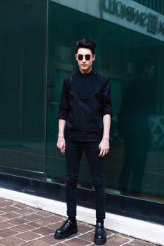Alessandro, Fashion Design Student