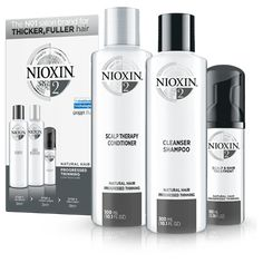 Nioxin - 3 Part System 2 Kit for Natural Hair with Progressed Thinning