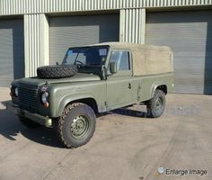 I want this one!!    Land Rover, 110 Soft Top RHD & LHD, #38644 - MOD Sales, Military Vehicles & Used Ex MOD Land Rovers for Sale