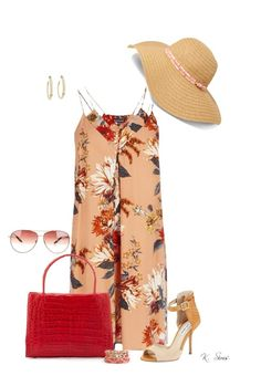 """""""Summer Hat"""" by ksims-1 ❤ liked on Polyvore"""