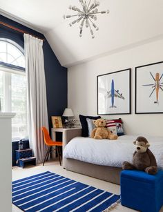 Traditional Kids Bedroom By Merigo Design -30 Cool Boys Bedroom Ideas of Design Pictures, http://hative.com/30-cool-boys-bedroom-ideas-of-design-pictures/,                                                                                                                                                                                 More
