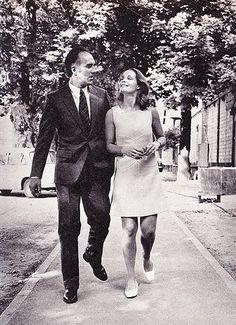 Romy Schneider and Michel Piccoli  in Les choses de la vie 1969