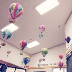 DIY hot air balloons- These would be awesome in SGES!