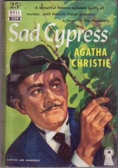 Agatha Christie's Hercule Poirot!  While Miss Marple was very unassuming, Poirot was exceedingly sure of himself and his gift!