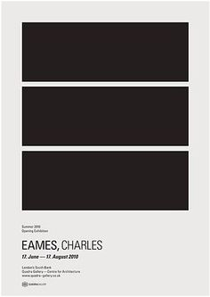 Via Six Black Dots | Quadra Gallery Charles Eames Exhibition Print by Donna Wearmouth
