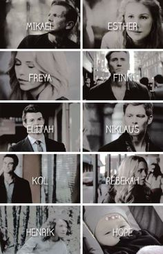 The mikaelsons ❤️