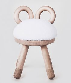 Japanese designer Takeshi Sawada, has designed a collection of quirky farm animal inspired stools for design brand EO – Elements Optimal. The collection is made up of three stools, Bambi, Sheep and Cow, with the design of the back of the stools and the faux fur seat easily telling you which animal i