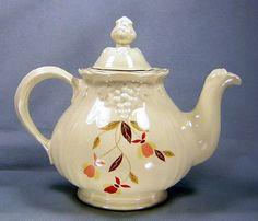 Autumn Leaf Jewel tea teapot
