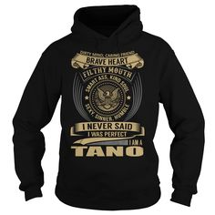 TANO Last Name, Surname T-Shirt