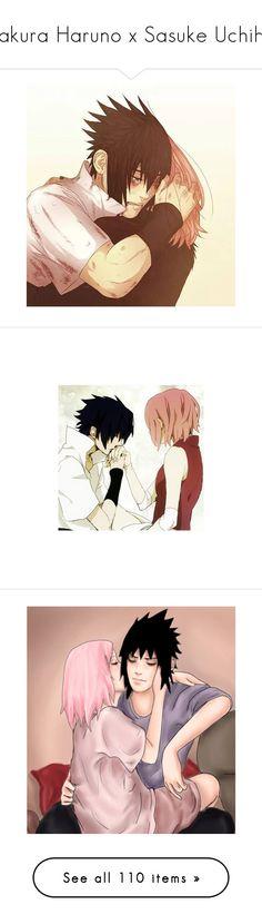 """Sakura Haruno x Sasuke Uchiha"" by bambolinadicarta-1 ❤ liked on Polyvore featuring LoveStory, naruto, narutoshippuden, sasukeuchiha, SakurHaruno, anime, draw, home, home decor and couples"