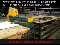 TIN KNOCKER Available NOW at Sierra Victor Industries! CALL TODAY 386-304-3720, VISIT http://sierravictor.com/index.php?dispatch=product_features.view&variant_id=170