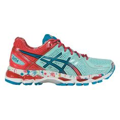 Asics Gel Kayano 21 NYC - my newest pair of the BEST shoes ever! (I have 8 screws & a 6-inch plate holding my lower left leg bones together and a bone graft in my left foot - my Asics are the only shoes I know won't cause me pain!)