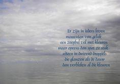 mooi gedicht over water....