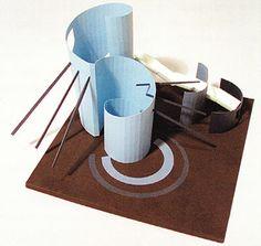 рис124 Conceptual Model Architecture, Paper Architecture, Architecture Quotes, Pavilion Architecture, Geometric Poster, Arch Model, Constructivism, School Art Projects, Art Lessons