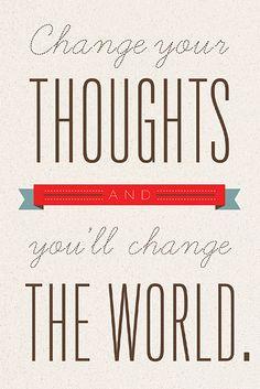 Change the world