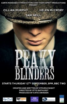 Peaky Blinders (2013)..... this has just started in Australia(Aug 2014) on BBC First