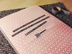notebook cover with Hello Again   momentstolivefor