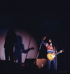Led Zeppelin performing on stage at the Wembley Empire Pool, London, 23rd November 1971.
