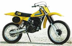 SUZUKI RM 125 cc. 1980