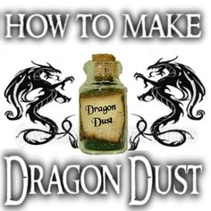 Today I am showing how to make Dragon Dust What is Dragon Dust? Dragon Dust is magical Incense Designed to Draw Dragon magic a. Wiccan Spells, Magic Spells, Green Witchcraft, Witch Spell, Pagan Witch, Witches, Dragons, Wiccan Crafts, Ideas