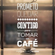 nestle-promesas4 Coffee Cups, In This Moment, Tea, Coffee Lovers, Drink Coffee, Good Deeds, Ad Campaigns, I Promise, Be Nice