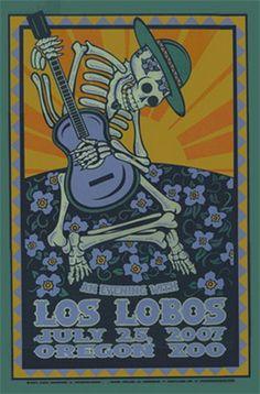 Los Lobos by Gary Houston