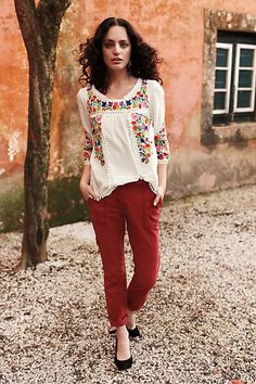 that top! anthropologie