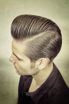 Long trim pompadour