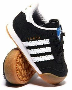 Baby Adidas shoes are just too cute!