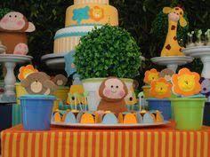 Resultado de imagen para tarjetas de cumpleaños infantiles de safari