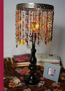 How to Make a Beaded Lamp Shade thumbnail