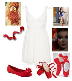"""""""The Red Shoes"""" by briony-jae ❤ liked on Polyvore"""