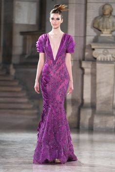 Photo of Tony Ward Haute Couture Spring Summer 2019 Tony Ward, Style Couture, Haute Couture Fashion, Robes D'oscar, African Traditional Dresses, Oscar Dresses, Lilac Dress, Fashion Week, Emo Fashion