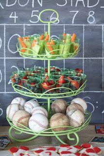 Baseball party - food